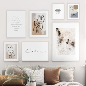 Quotations Wall Art Nordic Wall Decor